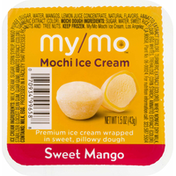 My/Mo Mochi Ice Cream, Sweet Mango