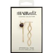 The Hair Edit Spherical Pins