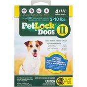 Petlock II for Dogs 3-10 lbs. Flea & Tick Topical Flea & Tick Topical Treatment
