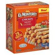 El Monterey Taquitos, Corn Tortillas, Chicken