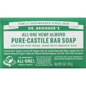 Dr. Bronner's Bar Soap, Pure-Castile, All-One Hemp, Almond
