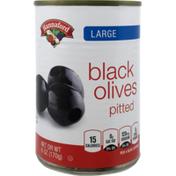 Hannaford Large Black Olives