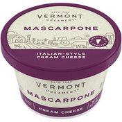 Vermont Creamery Italian Style Cream Cheese Mascarpone