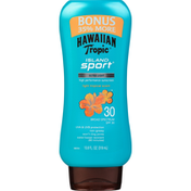 Hawaiian Tropic Sunscreen, High Performance, Light Tropical Scent, Broad Spectrum SPF 30