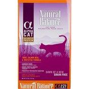 Natural Balance Alpha Cat Trout, Salmon Meal & Whitefish Formula Grain Free Cat Food