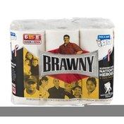 Brawny Paper Towels, Pick‑A‑Size, 2‑Ply, Big Rolls