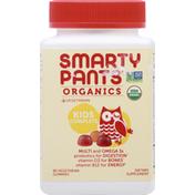 SmartyPants Kids Formula, Organics, Vegetarian Gummies
