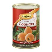 Roland Pitted Loquats In Light Syrup