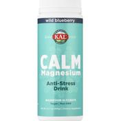 Kal Anti-Stress Drink, Wild Blueberry, Calm Magnesium