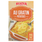 Stater Bros Au Gratin Potato Slices With Real Cheese In A Creamy Sauce