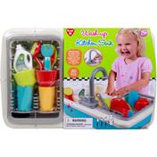 PlayGo Toy, Kitchen Sink, Wash-Up