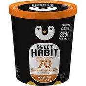 Sweet Habit What the Caramel Low Fat Ice Cream