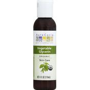 Aura Cacia Organic Skin Care Vegetable Glycerin