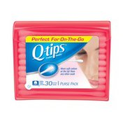 Q-Tips Red Purse Pack Cotton Swabs