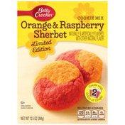 Betty Crocker Orange & Raspberry Sherbet Limited Edition Cookie Mix