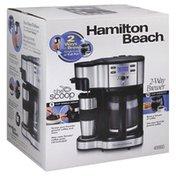 Hamilton Beach 2-Way Brewer, 12 Cup Capacity
