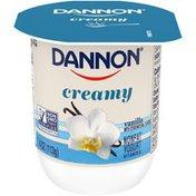 Dannon Creamy Vanilla Nonfat Yogurt