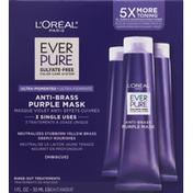 L'Oreal Purple Mask, Anti-Brass