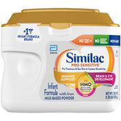 Similac Infant Formula, Milk-Based Powder with Iron, 0-12 Months