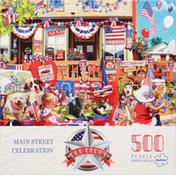 Buffalo Games Puzzle, Main Street Celebration, Age 14+