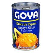 Goya Papaya Slices, in Heavy Syrup