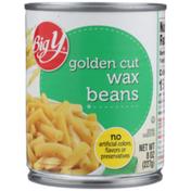 Big Y Golden Cut Wax Beans