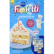 Pillsbury Birthday Cake Kit, All in One