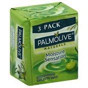 Palmolive Soap, Moisture Sensation, Olive & Aloe