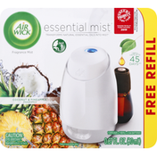 Air Wick Fragrance Mist Diffuser, Coconut & Pineapple