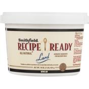 Smithfield Recipe Ready Lard