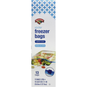 Hannaford Gallon Slider Freezer Bags