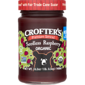 Crofter's Premium Spread Seedless Raspberry Organic