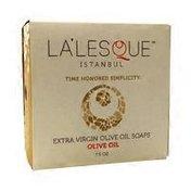 La Lesque Extra Virgin Olive Oil Soap Bar