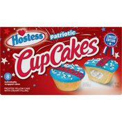 Hostess Red White and Blue CupCake