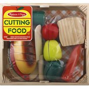 Melissa & Doug Toy, Cutting Food, Wooden