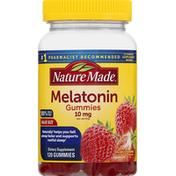 Nature Made Melatonin, Gummies, Strawberry, Value Size
