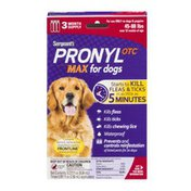 Sergeant's Pronyl OTC Max For Dogs 3 Month Supply 45-88 lbs