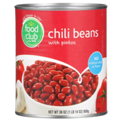 Food Club Chili Beans With Pintos