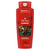 Old Spice Body Wash For Men, Bearglove, Long Lasting Lather