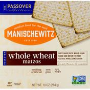 Manischewitz Matzos, Whole Wheat