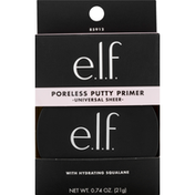 e.l.f. Putty Primer, Poreless, Universal Sheer, with Hydrating Squalane