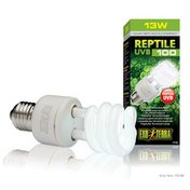 Exo Terra 13W Reptile UVB 100 Tropical Terrarium Bulb
