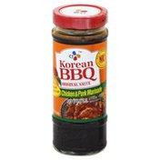 CJ Chicken & Pork Marinade, Korean BBQ Sauce, Original