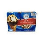 Sundae Shoppe Vanilla Sundae Nut Cones