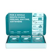 Listerine Ready! Tabs Chewable Tablets, Clean Mint
