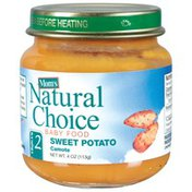 Mom's Natural Choice Sweet Potato Baby Food