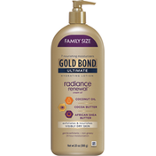 Gold Bond Lotion, Hydrating, Radiance Renewal, Family Size