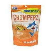Sea Snax Chomperz Crunchy Seaweed Chips