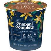 Chobani Complete Greek Yogurt Vanilla
