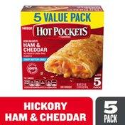 Hot Pockets Ham & Cheddar Frozen Sandwiches